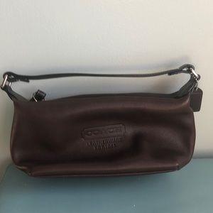 Mini Coach Leather Bag